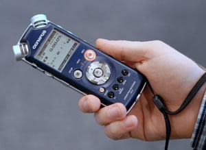 Bild Audioaufnahmegerät Olympus LS-5