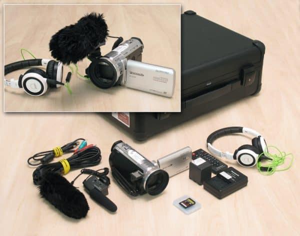 Bild Camcordersets 4-6 (Panasonic HC-X 909)