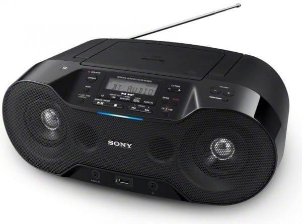 Bild Sony ZS-RS70BTB mobiler CD-Player mit Bluetooth und DAB